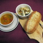 Curry Vegetable Soup & Fresh Hot Bread  - all soups made fresh d
